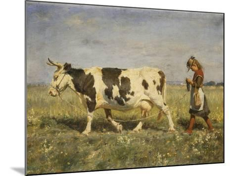 Off to Market, 1892-Michael Therkildsen-Mounted Giclee Print