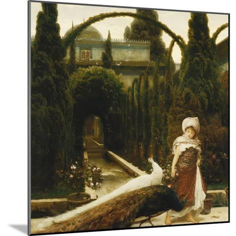 Moorish Garden; a Dream of Granada-Frederick Leighton-Mounted Giclee Print