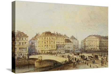 Ferdinandbrucke-Rudolph von Alt-Stretched Canvas Print