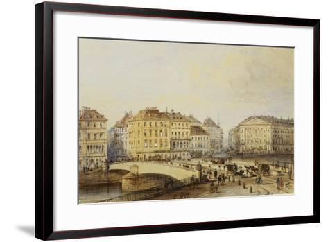Ferdinandbrucke-Rudolph von Alt-Framed Art Print