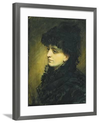 Portrait of Jeanna Heijkenskjold, 1881-Anders Leonard Zorn-Framed Art Print