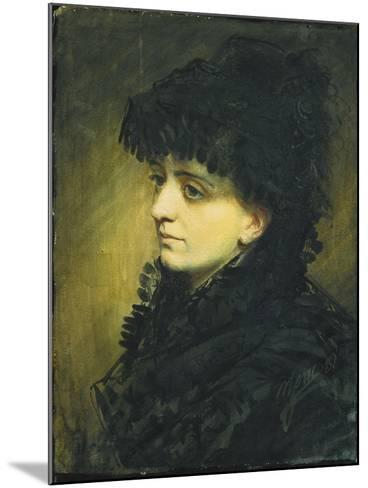 Portrait of Jeanna Heijkenskjold, 1881-Anders Leonard Zorn-Mounted Giclee Print