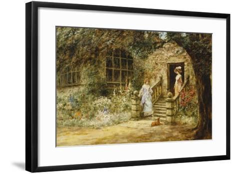 Elegant Conversation-Henry John Yeend King-Framed Art Print