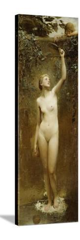 Truth-George William Joy-Stretched Canvas Print