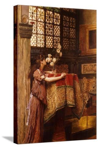 A Corner of My Studio, 1893-Sir Lawrence Alma-Tadema-Stretched Canvas Print
