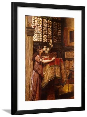 A Corner of My Studio, 1893-Sir Lawrence Alma-Tadema-Framed Art Print