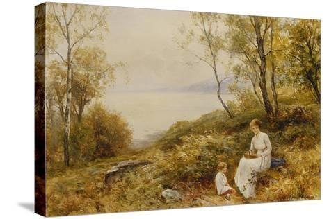 Motherly Love-Ernest Walbourn-Stretched Canvas Print
