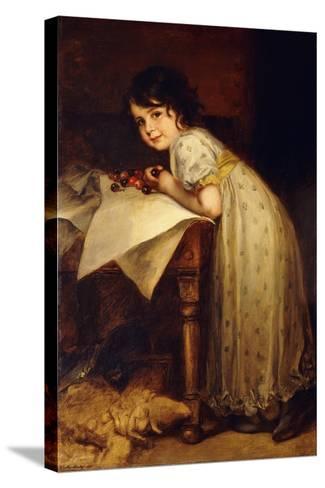 Hedda-Frederich August Kaulbach-Stretched Canvas Print