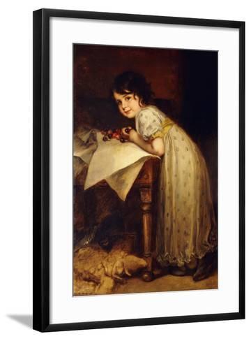Hedda-Frederich August Kaulbach-Framed Art Print
