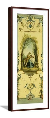 Three Decorative Panels with Allegories of Winter, Summer and Autumn-Nicolas Lancret-Framed Art Print