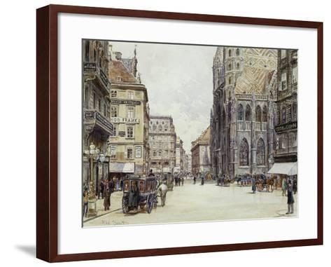 Stefanplatz, Vienna-Rudolf Bernt-Framed Art Print