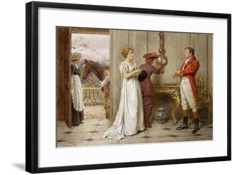 A Southerly Wind and a Cloudy Sky-George Goodwin Kilburne-Framed Art Print
