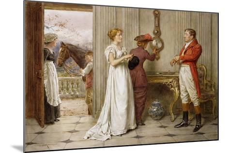 A Southerly Wind and a Cloudy Sky-George Goodwin Kilburne-Mounted Giclee Print