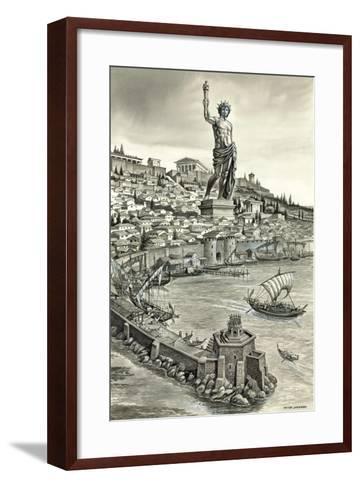 Colossus of Rhodes-Peter Jackson-Framed Art Print