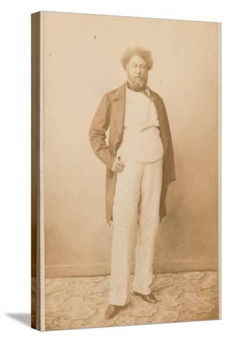 Alexandre Dumas, Writer--Stretched Canvas Print