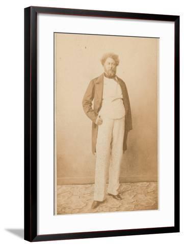 Alexandre Dumas, Writer--Framed Art Print