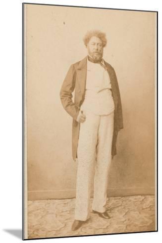 Alexandre Dumas, Writer--Mounted Photographic Print