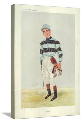 Bernard Dillon-Sir Leslie Ward-Stretched Canvas Print