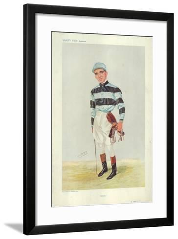 Bernard Dillon-Sir Leslie Ward-Framed Art Print