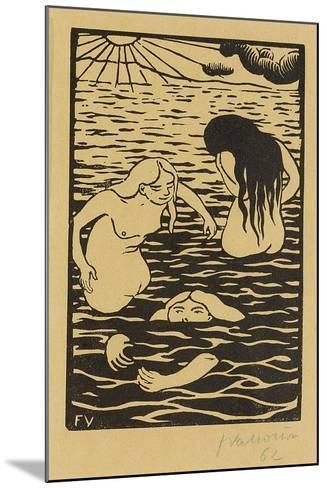 Three Bathers, 1894-F?lix Vallotton-Mounted Giclee Print