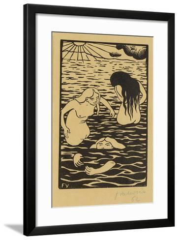 Three Bathers, 1894-F?lix Vallotton-Framed Art Print