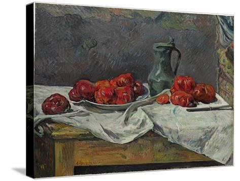 Still Life with Tomatoes, 1883-Paul Gauguin-Stretched Canvas Print