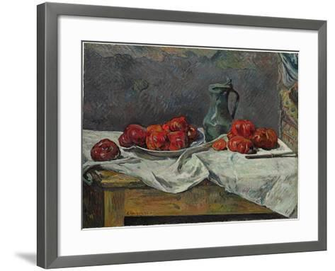Still Life with Tomatoes, 1883-Paul Gauguin-Framed Art Print