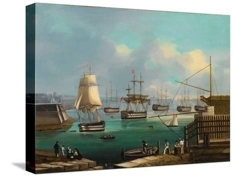 Plymouth--Stretched Canvas Print