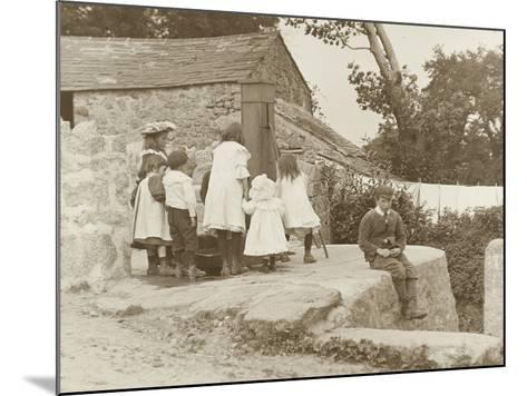 The Village Pump at Luxulyan--Mounted Photographic Print