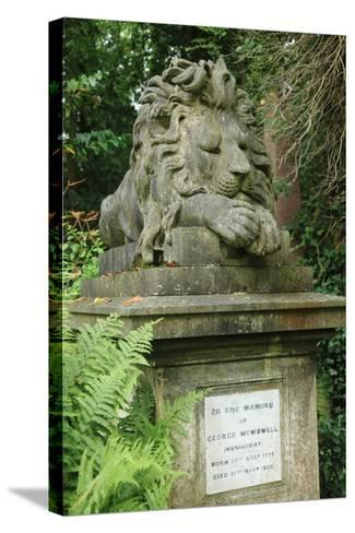 Lion, Highgate West--Stretched Canvas Print