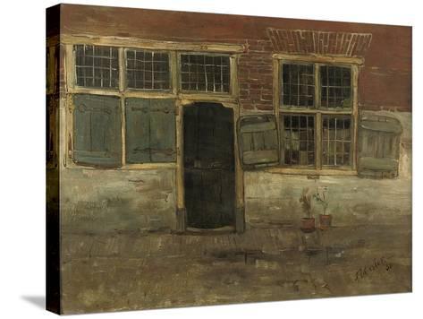 Little Houses, Leiden, 1881-Floris Verster-Stretched Canvas Print