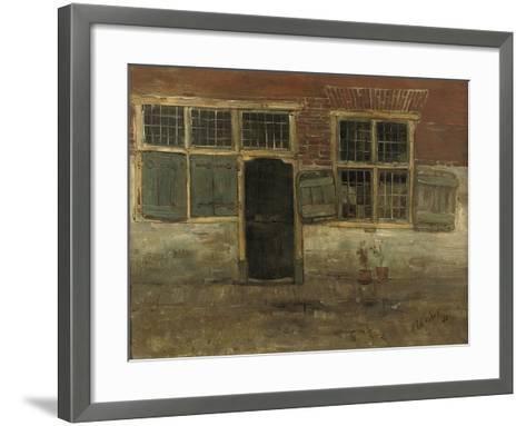 Little Houses, Leiden, 1881-Floris Verster-Framed Art Print