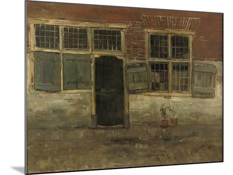 Little Houses, Leiden, 1881-Floris Verster-Mounted Giclee Print