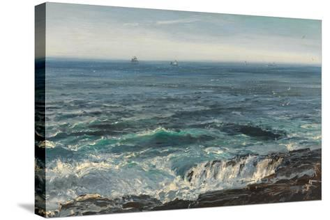Seascape, 1877-Henry Moore-Stretched Canvas Print