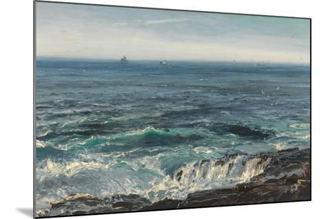 Seascape, 1877-Henry Moore-Mounted Giclee Print