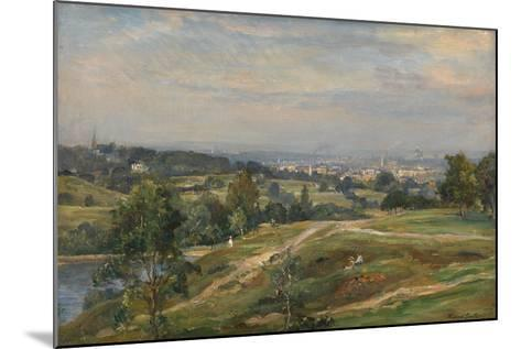 Vale of Health, Hampstead Heath-James Herbet Snell-Mounted Giclee Print