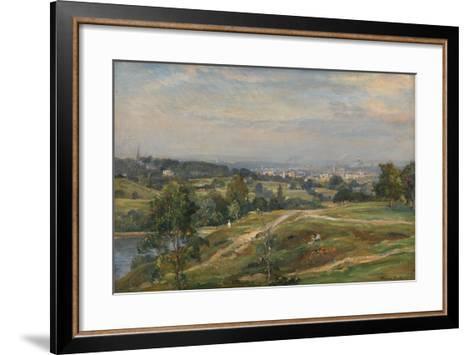 Vale of Health, Hampstead Heath-James Herbet Snell-Framed Art Print
