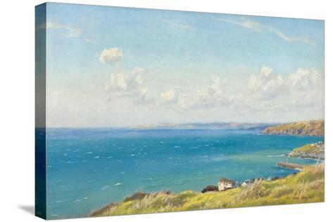 Mount's Bay, C.1899-Arthur Hughes-Stretched Canvas Print