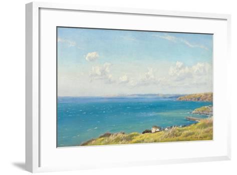 Mount's Bay, C.1899-Arthur Hughes-Framed Art Print