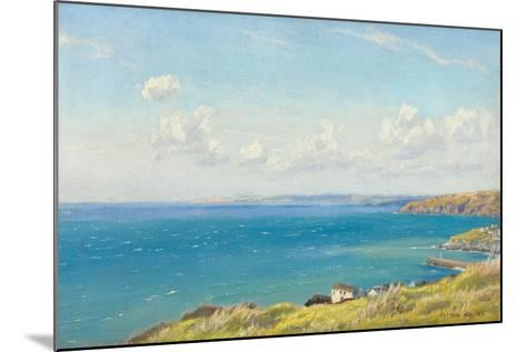 Mount's Bay, C.1899-Arthur Hughes-Mounted Giclee Print