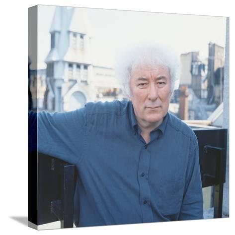 Seamus Heaney, 1996--Stretched Canvas Print