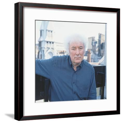 Seamus Heaney, 1996--Framed Art Print
