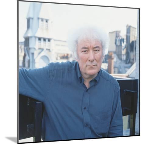 Seamus Heaney, 1996--Mounted Photographic Print