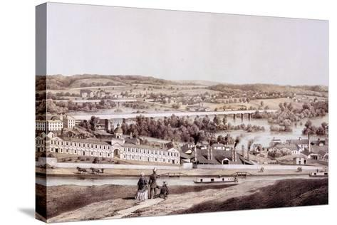 View from Gamble's Hill, Richmond, Virginia, from 'Album of Virginia', 1858-Edward Beyer-Stretched Canvas Print