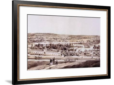 View from Gamble's Hill, Richmond, Virginia, from 'Album of Virginia', 1858-Edward Beyer-Framed Art Print