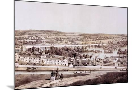 View from Gamble's Hill, Richmond, Virginia, from 'Album of Virginia', 1858-Edward Beyer-Mounted Giclee Print