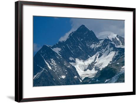 The Mont Blanc Massif--Framed Art Print