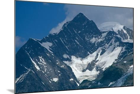 The Mont Blanc Massif--Mounted Photographic Print