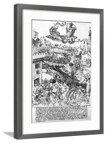 Saturn, C.1464-Baccio Baldini-Framed Art Print