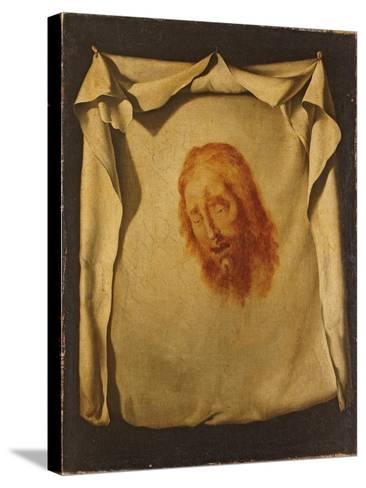 The Veil of Saint Veronica-Francisco de Zurbar?n-Stretched Canvas Print